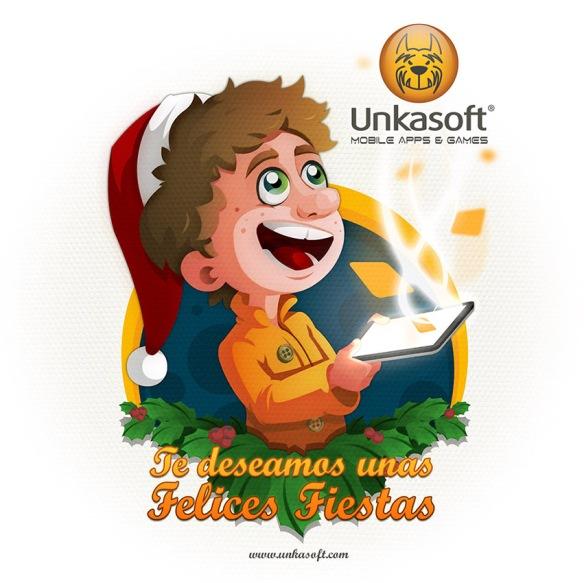 Felicitación Navideña de Unkasoft