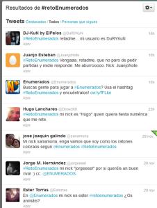 #retoenumerados
